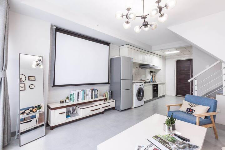 近会展城、贵阳北站、花果园/loft北欧公寓