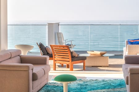 Mediterranean Coral  Beach Penthouse - Panoramic