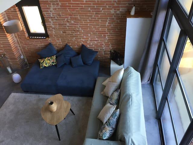 Maison de charme contemporaine Toulouse Est 15 km