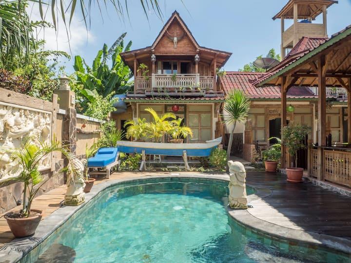 Rumah Manis 5 Room Villa with AC/hot water & pool