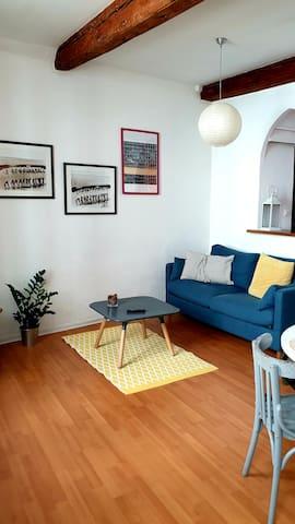 Appartement idéalement situé en intra muros