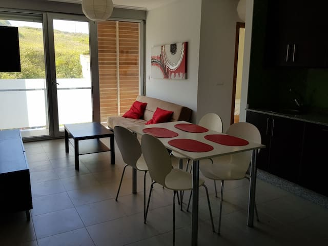 Apartamento de playa de 2 habitaciones