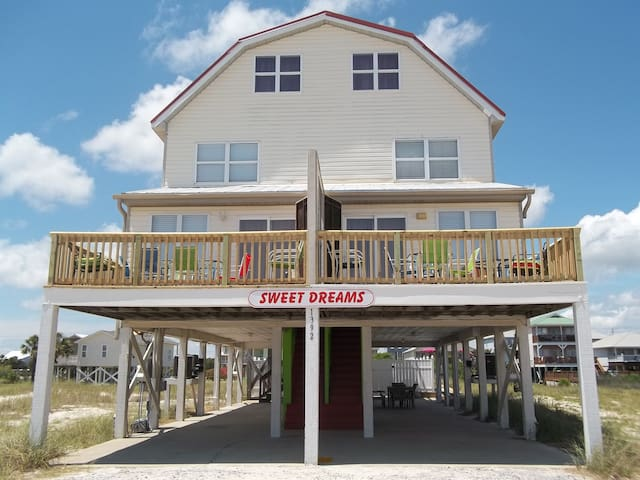 Sweet Dreams ... Big House, Big Pool!  Sleeps 30! - Gulf Shores - Huis