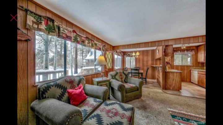 Tahoe Chalet / Cabin On The Green (monthly rental)