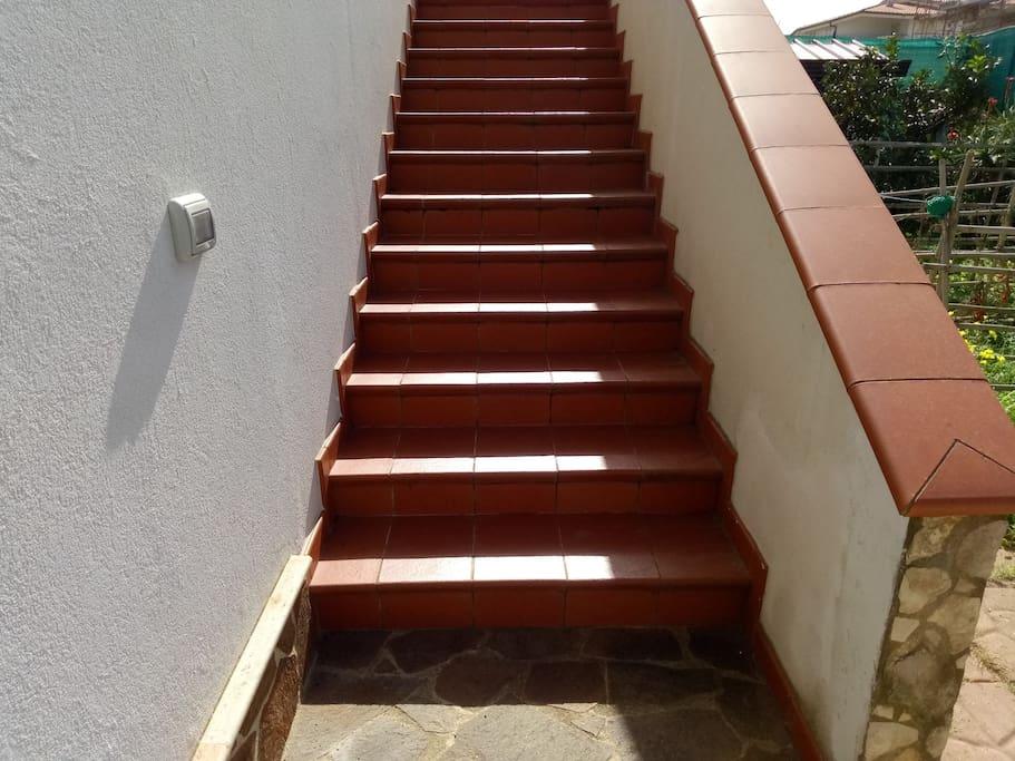 Scale della residenza