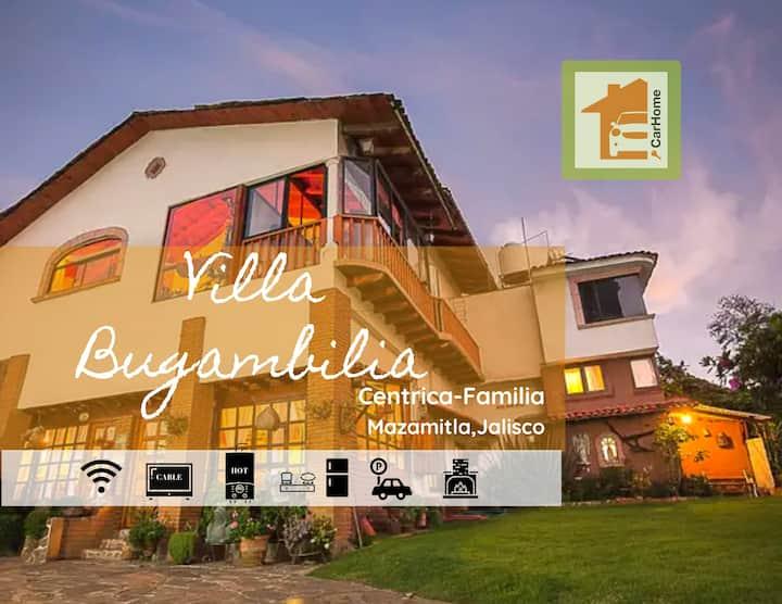 Villa Bugambilia cabañita céntrica, terraza Wifi