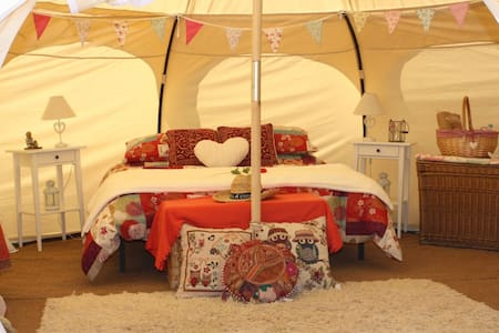 Myrtle Lotus Belle Glamping Tent - Monòver