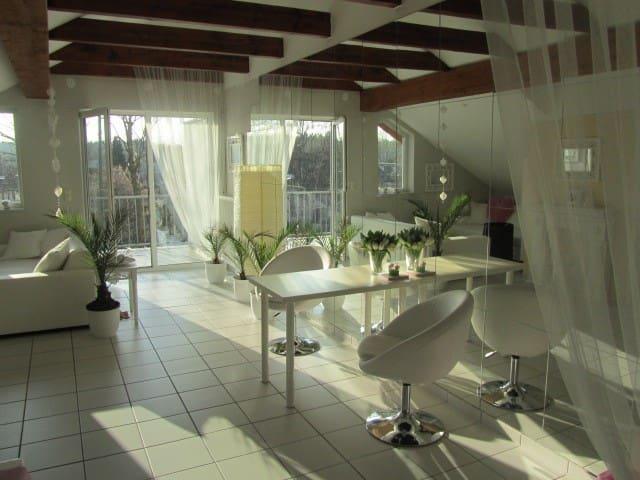 Stylische 65qm-Wohnung nahe Frankfurt! - Hanau - Apartmen