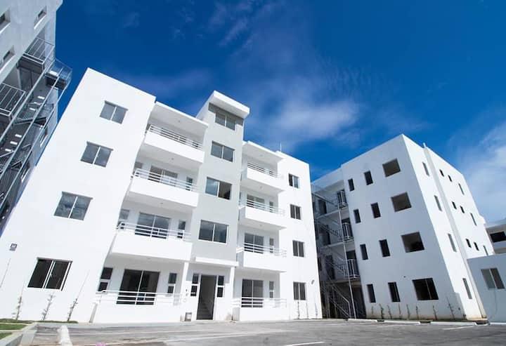 Apartamento amueblado con piscina en Santiago RD