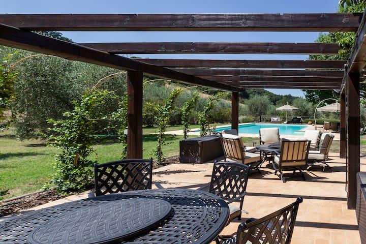 Villa Cipressi, Italian countryside paradise