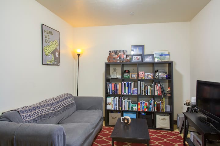 Downtown Apt | Flat Screen TV | Walk Everywhere!!!