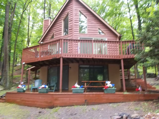 My Chateau on  Lake Wallenpaupack  in the Poconos