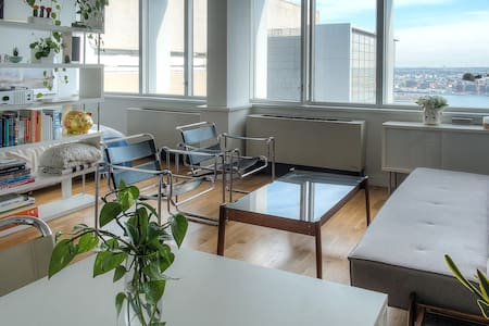 Spacious Bright Manhattan Studio Apartment - New York - Lejlighed