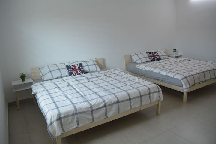 IpohStay Delta (Simple Nordic King Beds)
