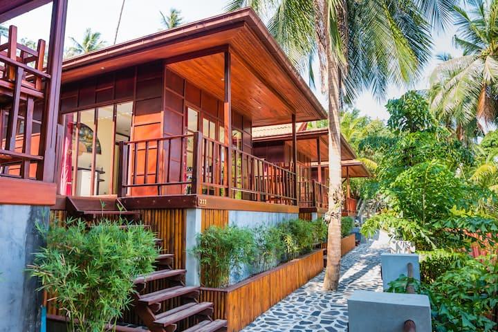 Cyana Beach Resort - Deluxe Sea View Bungalow