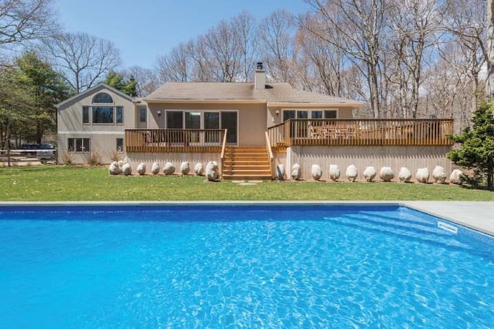 Amagansett Sun Drenched Retreat