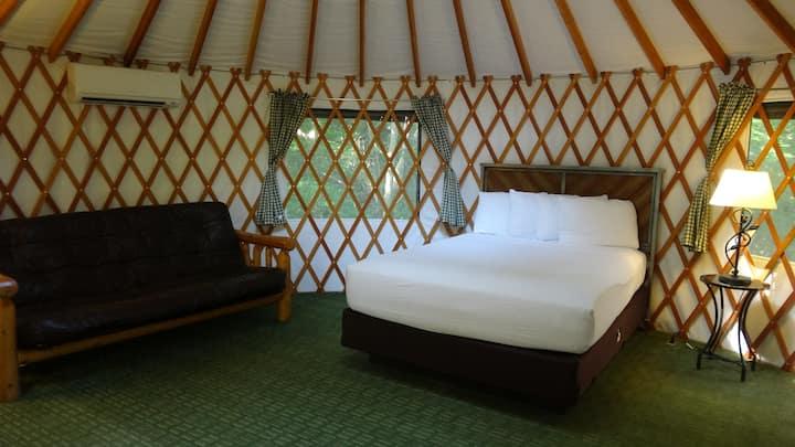 Unique Yurt Nestled in Williamsburg, Virginia