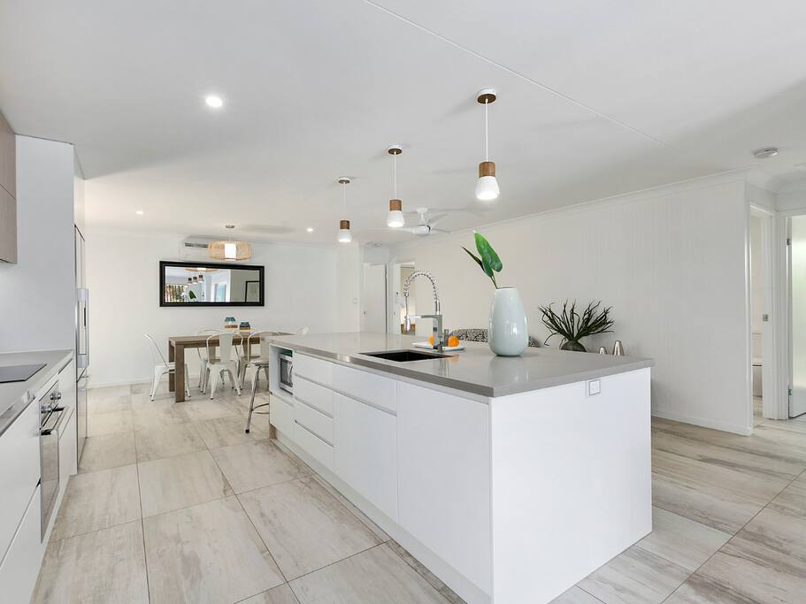 Centrally located state of the art kitchen