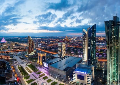 Privacy, Space and a City View! - Астана - Квартира