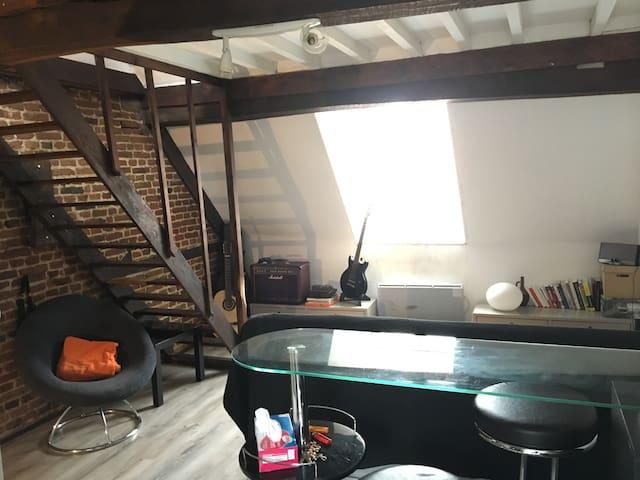 Appartement Cosy au coeur du Vieux Lille - Lille - Apartment