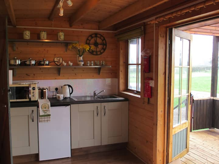 Gert Lushing - A self contained cabin on our Farm