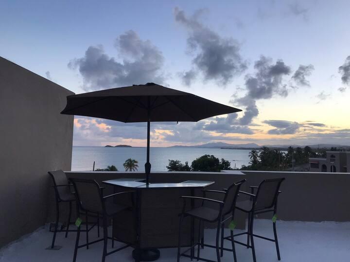 Beautiful beachfront smart penthouse!