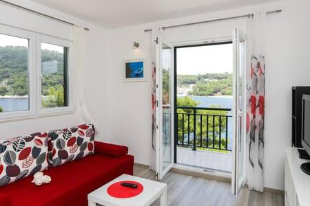 Posta-Balcony and Sea View Studio 1 - Babino Polje - Apartment