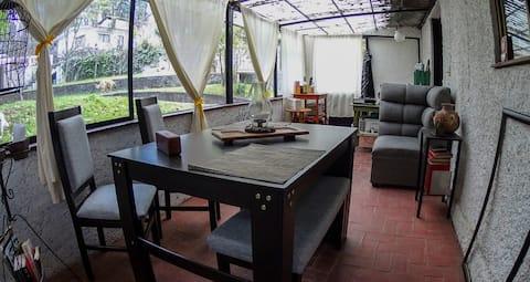 Cabaña Rústica en Campamento Cahuacán