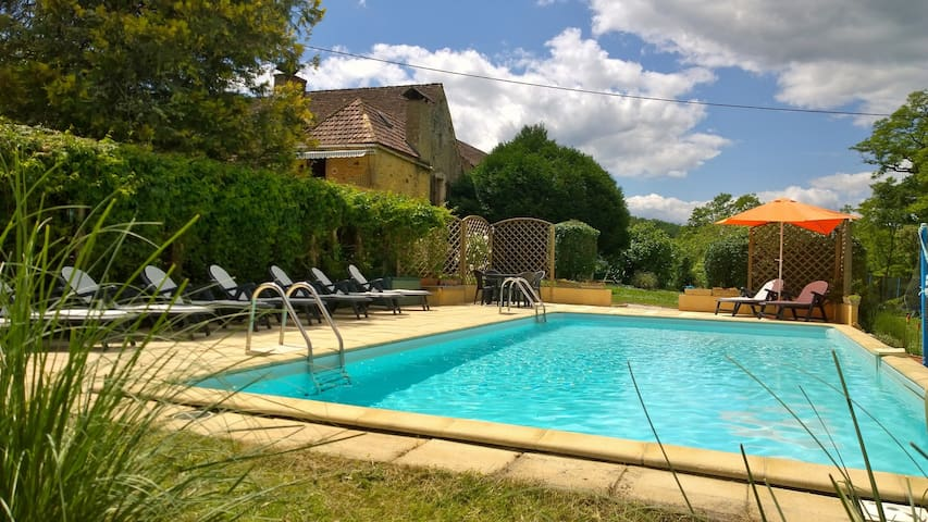 Cote du Grel Cottage & Pool. Fantastic Location - Domme - Hus