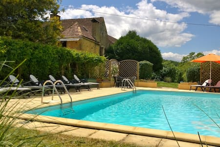 Beautiful Cottage & Pool in a fantastic location - Domme - House