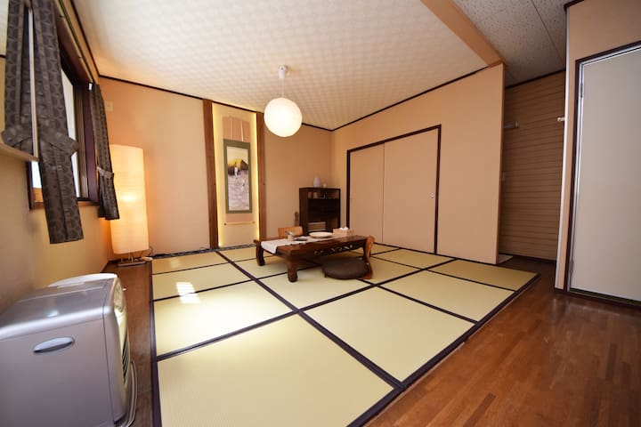 5 min walk to Deer Park: JPN Room - Nara - Apartament