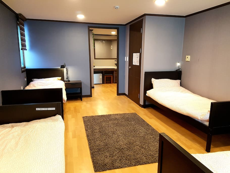 Beds in Dormitory