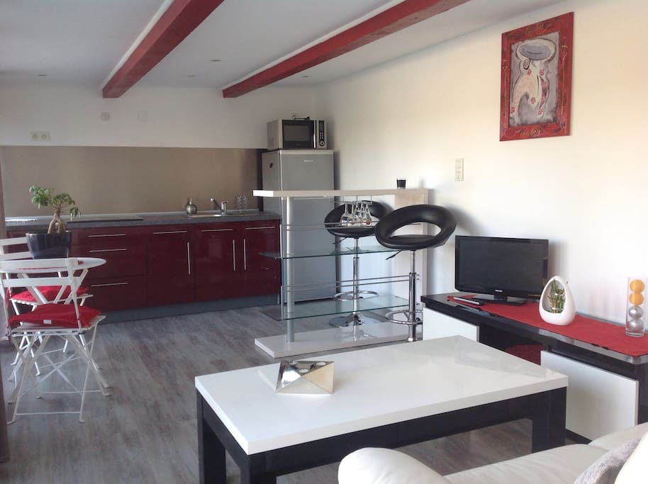 Salon & cuisine