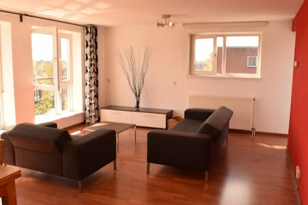 Spacious appartment in Amsterdam with parking - Apartmen