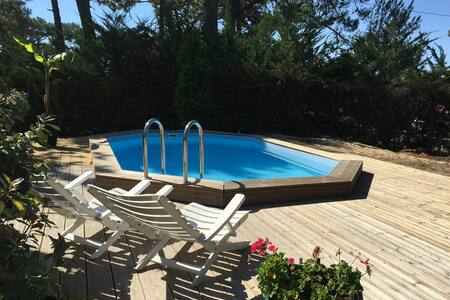 Villa standing avec piscine - Lège-Cap-Ferret