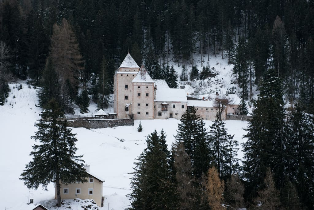 View of house and castle
