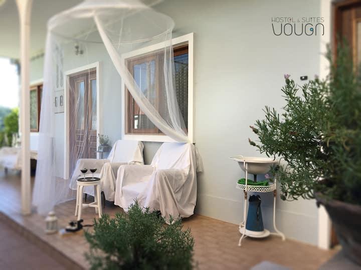 Suite - Vouga Hostel & Suites - Quarto com banho