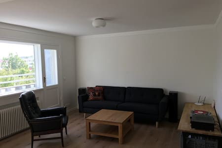 Bright and spacious apartment in the city center - Reykjavík - Wohnung