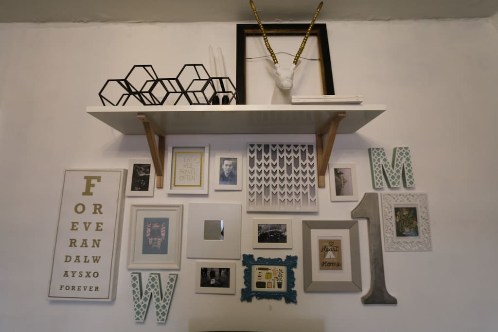 Gallery Wall (Living Room)