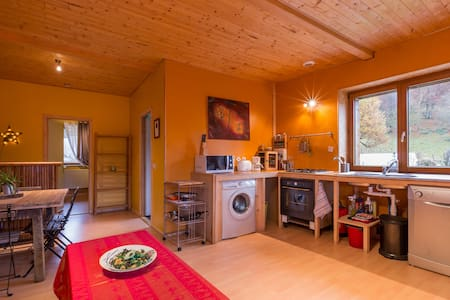 An authentic farm in the Bauges - Lescheraines - Wohnung