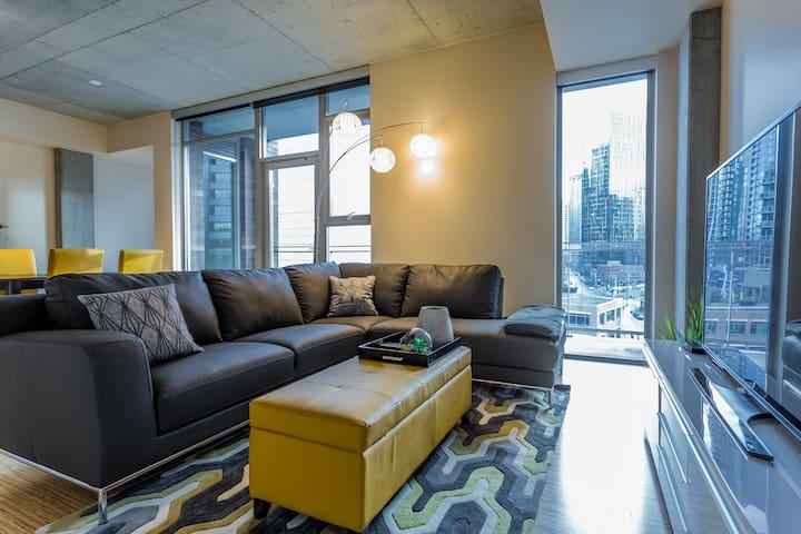 Modern Downtown 1BD. 100 WS 3 - Seattle - Leilighet