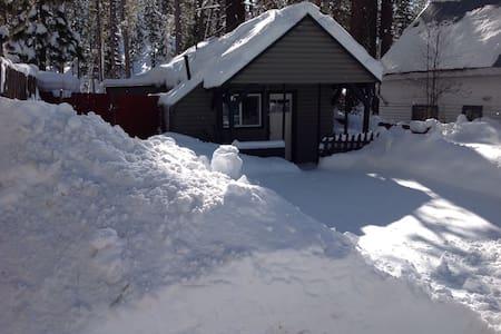 The Little Lake Tahoe Cabin - Glenbrook - Rumah