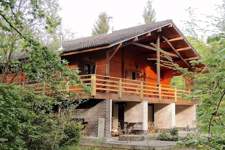 Guesthouse in the Ardennes Forest - Erezée - Dağ Evi
