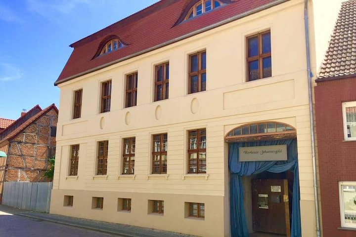 Altes Kommandeurhaus in Werben an der Elbe