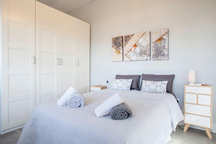 Loft Ticino, Dormitorio