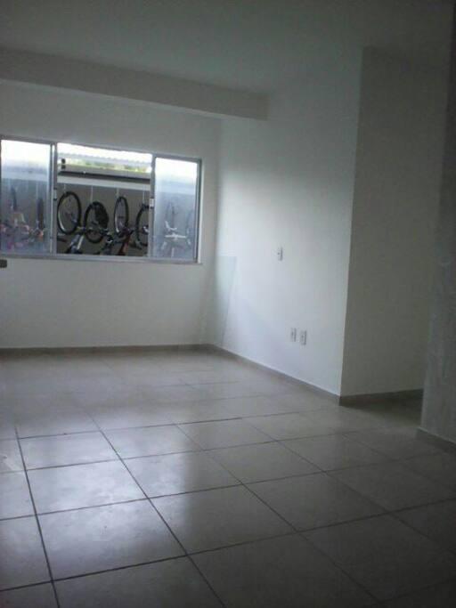 área da sala do apartamento
