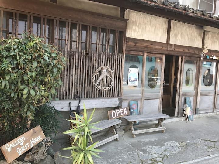 gallery&guest house Uedaya 【Room2】駅まで5分