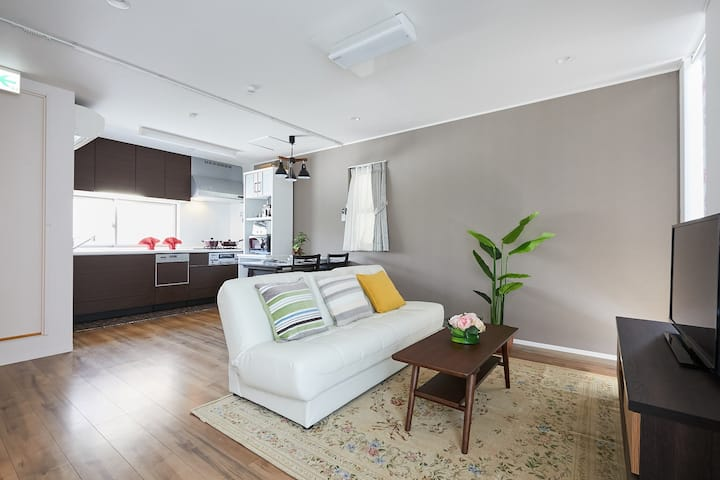 Private&Comfy House, 4 mins walk to JR Station