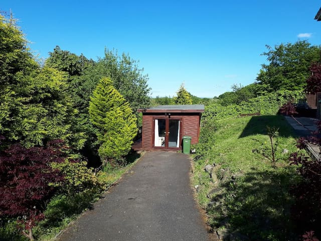 Private Lodge  with Swimming Pool in Gateshead.