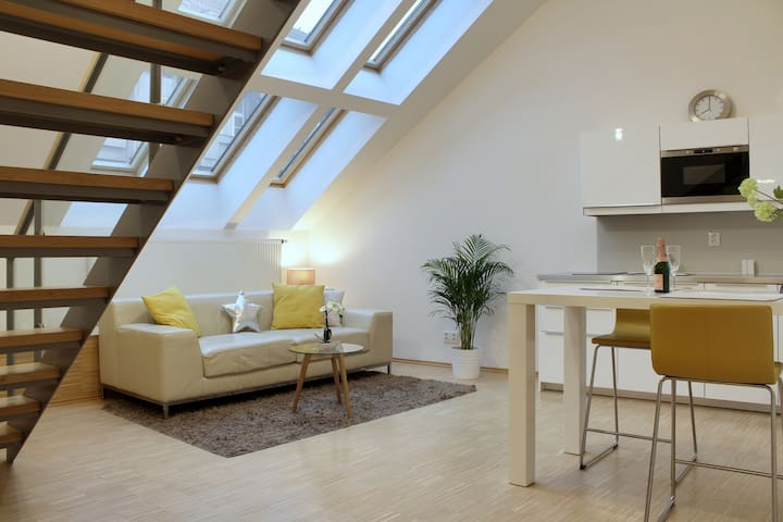 A/CLuxury loft right in the centre